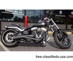 2013 Harley-Davidson Softail FXSB-Softail Breakout with a Clean Carfax