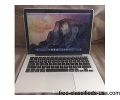 Macbook Pro Retina, 13 Inch, 2015: 2.7 GHz Intel Core i5