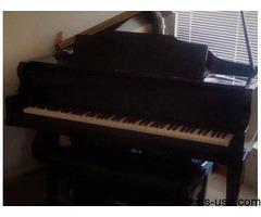 6' Baby Grand Kimball Piano