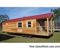 Rustic Cedar Cabin - RV Titled