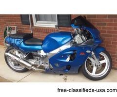 98 Suzuki GSXR 750 fuel injection shad