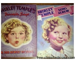 Shirley Temple Song Books
