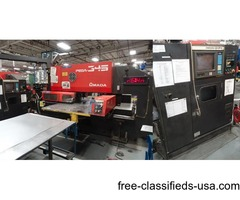 Used Amada Pega 345 Queen Turret Punch Press for sale