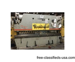 Used Accurpress Hydraulic 725012 250 Ton Press Brake for sale
