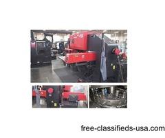 (3) 33 Ton Amada Pega 345 Queen CNC Turret Punch for sale