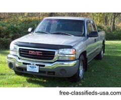 2003 GMC Sierra 1500 SLE Ext. Cab 2WD