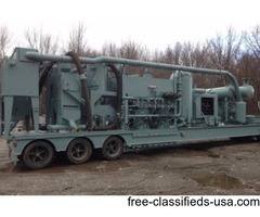 Abrasive Steel Grit Recycling Machine-3500 CFM Vacuum-45