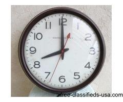 GE INDUSTRIAL WALL CLOCK