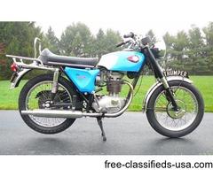 VINTAGE 1968 BSA STARFIRE B25/441CC SINGLE CYCLE