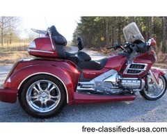 2007 Honda Goldwing w/Trike