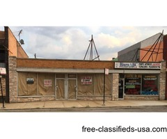 NORTHWEST SIDE OF CHICAGO, 3 STORES FOR SALE!