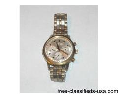Wakmann Triple Date Chronograph Wristwatch