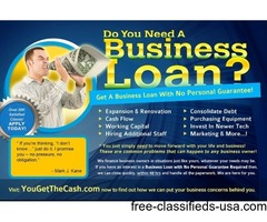 We gives out both business and personal loans no collateral required