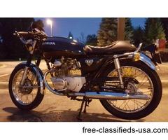 73 Honda 175 café racet