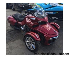 SALE! WAS $27,249.00! New 2016 Can-Am Spyder F3 Limited Motorcycle