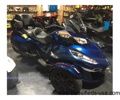 SALE! WAS $28,399.00! New 2016 Can-Am Spyder RT-S SE6 Motorcycle