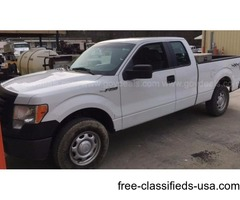 2011 FORD F-150 4x4 SUPERCAB