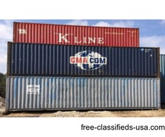 40' Steel containers- Over 300 Surplus! Must Go!