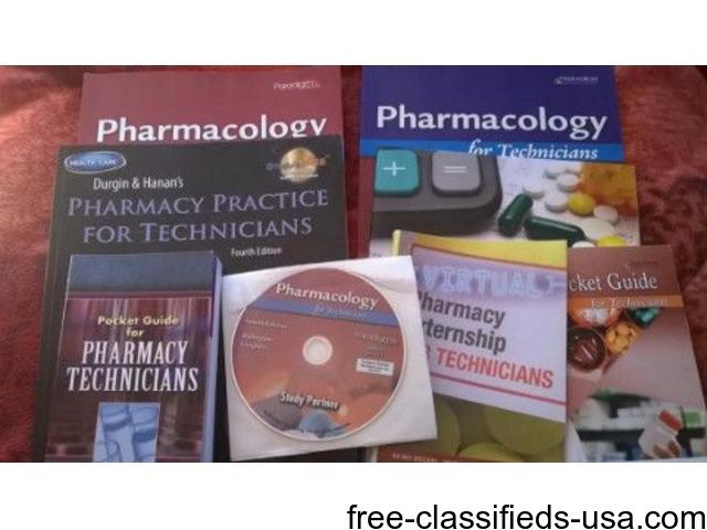 PHARMACOLOGY BOOKS & LAB PKT | free-classifieds-usa.com