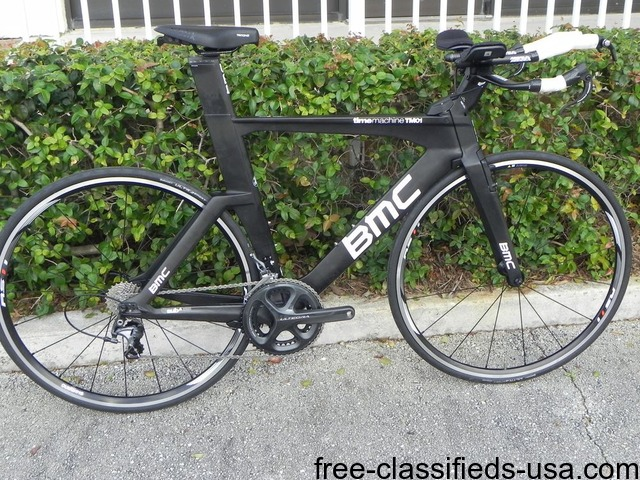 BMC Time Machine TM01 Ultegra Triathlon Carbon Bike size M Short ...