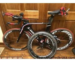 Specialized S-Works Shiv Tri Bike