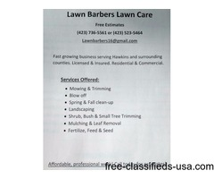 Lawn Barbers LC