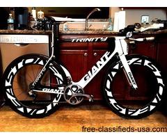 Giant Trinity Advanced SL Time Trial Tri Bike Dura Ace Di2
