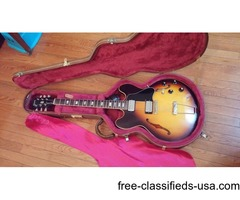 Gibson ES-335 Electric Guitar 1968 Original Sunburst