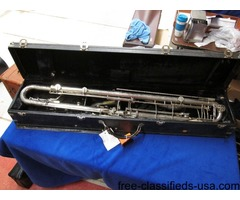 "Leblanc curved ""Paperclip"" Professional Contrabass Clarinet"