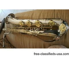Kielworth SX 90 Nickel Plated Baritone Saxophone