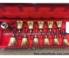 Schulmerich Multi-octave Handbell Set With Cases