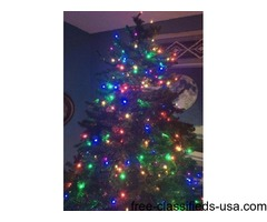 175$ Reduced Huge Prelit Christmas tree