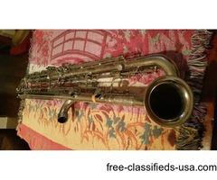 LeBlanc Paperclip model 340 metal BBb CONTRABASS clarinet