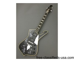 Paul Stanley's Ibanez PS120 - Signed by all members of KISS
