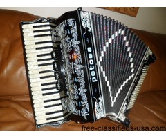 Petosa 41120 Four Voice Musette Tuba Bass Accordion