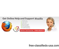 Instant Help For Mozilla Firefox Help Number USA+1-844-442-0111