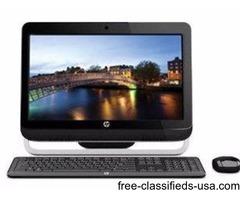 model 120-1333W HP omni 120 all in 1 desktop win8