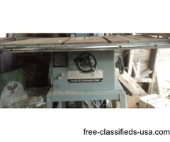 Delta contrator's 10 table saw
