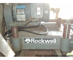 Rockwell surface planer
