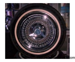 4 13 inch WIRE wheels atlanta (with shipping available
