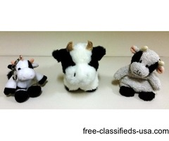 Cow Collectibles & Stuffed Animals