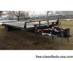 2006 38 ft brute flatbed trailer