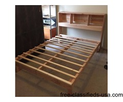 Hand Made Real Wood Bed Frames.