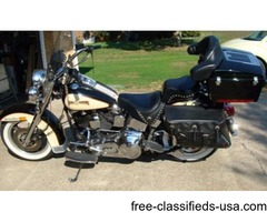 1989 Harley Heritage softail classic