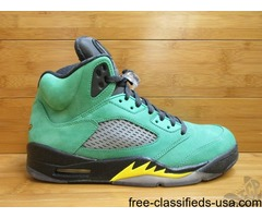 Nike Air Jordan V 5 s sz 9 Oregon Ducks