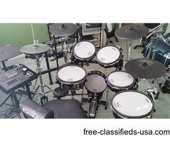 Roland TD-30K Electronic Drum Set Upgraded