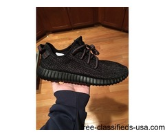 Size 12 Adidas Yeezy 350 Boost Pirate Black
