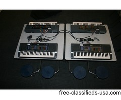 Yamaha MIE (Music in Education) class keyboard system 18 MIE-2XG3XG keyboards