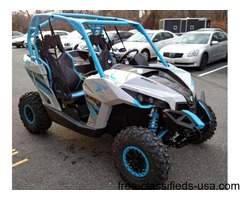 New 2016 Can-Am Maverick X XC 1000R Gray/Blue - stock
