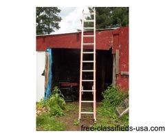 24 ft Werner fiberglass ladder